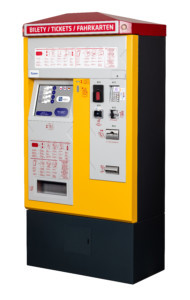Stationary ticket vending machines BS-201