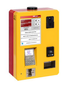 Ein mobiler Fahrkartenautomat BM-102