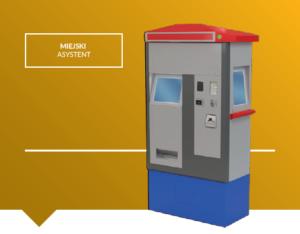 Automat biletowy stacjonarny